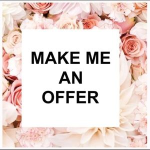 Other - I consider reasonable offers